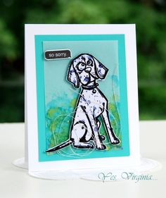 So sorry by Stamping Virginia - Cards and Paper Crafts at Splitcoaststampers