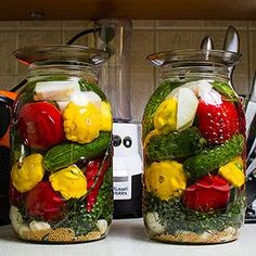 Jesienne warzywa kiszone Fermented Foods, Fruit And Veg, Superfood, Preserves, Pickles, Kimchi, Nom Nom, Food And Drink, Menu