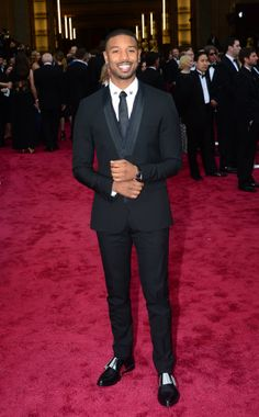Michael B. Jordan | #Oscars2014 #RedCarpet #OscarsRedCarpet