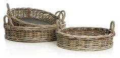 Råtøft kurvbrett med platebunn slik atkopper, lysestaker o.l. står stødig. H:13cm D:55cm Wicker Baskets, Home Decor, Homemade Home Decor, Decoration Home, Woven Baskets, Interior Decorating