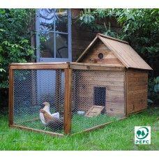 poulailler lucky 2 3 poules carr potager carr potager poulaillers et poule. Black Bedroom Furniture Sets. Home Design Ideas