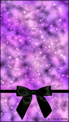 background, bow, and galaxy image Cocoppa Wallpaper, Phone Wallpapers, Cute Wallpapers, Girly Skull Tattoos, Lace Wallpaper, Boss Up Quotes, Galaxy Images, Purple, Pink