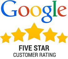 5-Star Rating on Google