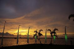 Traditional Bali Style at night Wedding Flags, Bali Style, Bali Fashion, Outdoor Weddings, Wedding Vendors, Florida, Traditional, Sunset, Night