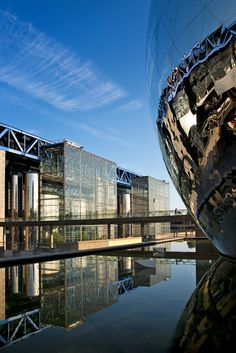 Parc de la Villette, Cite des Sciences et de l'Industrie , Paris XIX