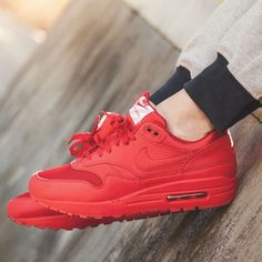 Nike Air Max 1 Tonal Pack - Red - 2017 (by nananoah1) Find shops 549f066fb