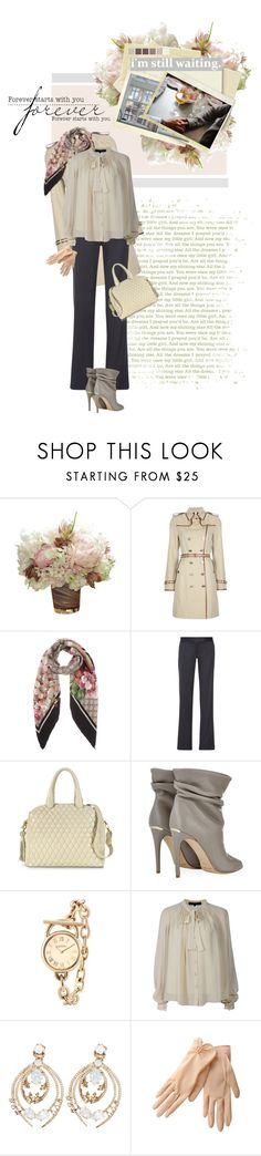 """""""Always Find Me Here"""" by alexvishnevskaya ❤ liked on Polyvore featuring PEONY, Burberry, Gucci, STELLA McCARTNEY, Seed Design, Fontanelli, Brooks Brothers, Elie Saab, Roberto Cavalli and INDIE HAIR"""
