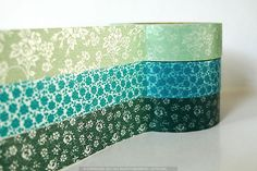 Teal Wedding Decor Teal / Mint Japanese Washi tape by PrettyTape, $8.50