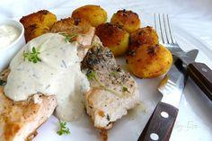 O varení, živote a tak...: Losos s horčicovo-kôprovým dipom