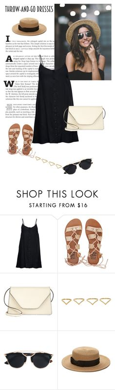 """""""#319"""" by blacksky000 ❤ liked on Polyvore featuring ONLY, Billabong, Valextra, Ana Khouri, Christian Dior and Forever 21"""