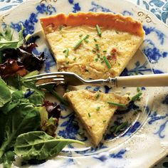 Named for the region of Lorraine in northeastern France, this classic quiche is loaded with cheese and bacon, turning hearty staples into an elegant tart.