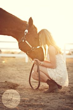 Girl and her horse | Kourtney Hand Photography