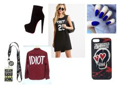 5SOS by madqueenperfect on Polyvore featuring polyvore, fashion, style, Forever 21, Christian Louboutin and clothing