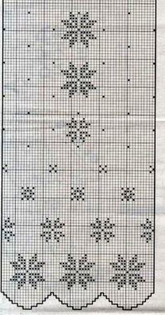 Crochet Curtain Pattern, Crochet Curtains, Curtain Patterns, Lace Curtains, Crochet Doilies, Thread Crochet, Crochet Stitches, Knit Crochet, Cross Patterns