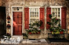 Best 25 Red Shutters Ideas On Pinterest Shutters Inside