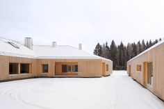 Architects: OOPEAA Office for Peripheral Architecture Architect in charge: Anssi Lassila  Project architect: Jussi-Pekka Vesala  Design team: Iida Hedberg, Hanna-Kaarina Heikkilä, Tommi Heinonen, Juha Pakkala Location: Alajärvi, Finland  Client: private  Commission: direct commission  Year: 2010-2014 (completion)  Site area: approx. 6000 sqm Size: 239 sqm (house) + 110 sqm (garage) + 100 sqm (atelier)  photographs: © Jussi Tiainen
