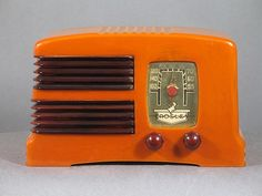 Crosley Split Grille Catalin Radio