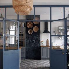 errière pour cuisine semi ouverte ✨✨✨#decoration #cuisine #kitchen #deco #verriere #interiordesign #interior #inspiration #inspo
