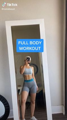 Full Body Hiit Workout, Slim Waist Workout, Gym Workout Videos, Gym Workout For Beginners, Fitness Workout For Women, Sport Fitness, Butt Workout, Fitness Goals, Gym Workouts