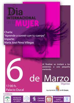 altoguadalquiviralminuto: María José Pérez dará una conferencia en El Carpio...