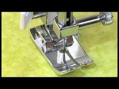 Existen distintos tipos de prensatelas para la máquina de coser. ¡Descubre cómo utilizar cada uno!