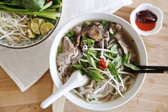 Learn how to make Pho this weekend.