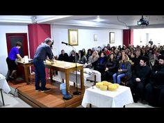 Τριήμερο σεμινάριο παρασκευής πρόσφορου, ενορίας Αγίας Παρασκευής Λαμίας (Β΄ μέρος 19-11-2018) - YouTube Conference Room, Youtube, Meeting Rooms, Youtubers