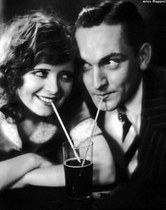 Clara Bow and Fredric March  1920s 1930s #OldHollywood