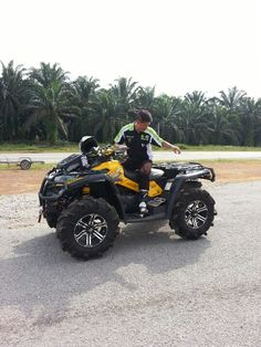 Same as clints atv with dope wheels. Get yours running again slacker!! Its just a belt