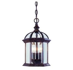 Savoy House 5-0635 Traditional / Classic 3 Light Outdoor Pendant from the Kensington Collection