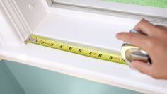 Measure for Window Treatments