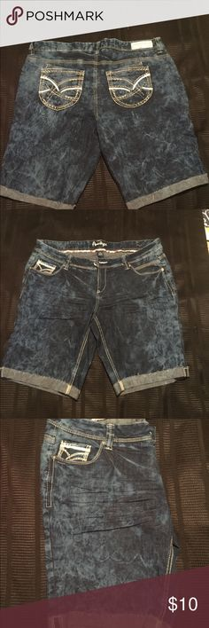 Plus Size Shorts Super cute shorts Amethyst Jeans Shorts Jean Shorts