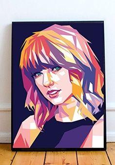 Abstract Portrait, Portrait Art, Abstract Art, Harry Potter Painting, Celebrity Drawings, Diy Canvas Art, Art Music, Female Art, Vector Art