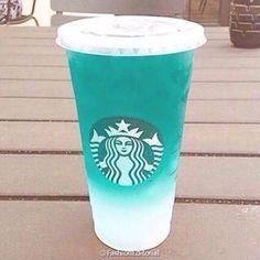 Starbucks- Blueberry Acai Refresher/ Blue Mountain Crush with Lemonade Bebidas Do Starbucks, Copo Starbucks, Starbucks Secret Menu Drinks, Non Coffee Starbucks Drinks, Starbucks Summer Drinks, Starbucks Smoothie, Starbucks Cup, Frappuccino, Secret Starbucks Recipes