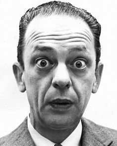 """Jesse Donald """"Don"""" Knotts (July 1924 – February was an American comedic actor best known for his portrayal of Barney Fife on the Hollywood Star Walk, Classic Hollywood, Old Hollywood, Don Delillo, Barney Fife, Divas, Don Knotts, Orlando, Interesting Faces"""