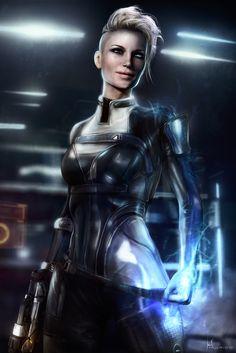 Cora Harper - Mass Effect Andromeda, Hidrico Rubens on ArtStation at https://www.artstation.com/artwork/nOOe1