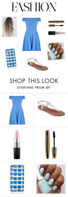 """""""Untitled #98"""" by fotiniiliadou ❤ liked on Polyvore featuring Louche, Apt. 9, MAC Cosmetics, L'Oréal Paris and Kate Spade"""