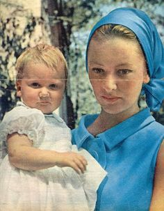 Queen Paola and Princess Astrid of Belgium