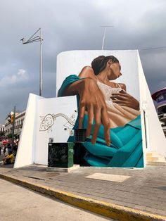 Street Mural, Street Art Graffiti, Best Graffiti, Sidewalk Chalk Art, Graffiti Designs, Best Street Art, Found Art, Creative Illustration, Art Graphique