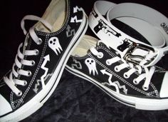Soul Eater Shinigami-sama Shoes i would wear them so much!!