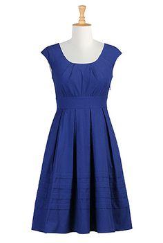 Womens short dresses | Sundresses | Sundress | Cotton Sundress | Resort Sundresses | Beach Sundresses - | eShakti.com