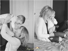 Mama and baby boy