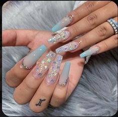 In seek out some nail designs and some ideas for your nails? Here's our listing of must-try coffin acrylic nails for modern women. Bling Acrylic Nails, Aycrlic Nails, Summer Acrylic Nails, Best Acrylic Nails, Swag Nails, Cute Acrylic Nail Designs, Fire Nails, Coffin Nails Long, Dream Nails