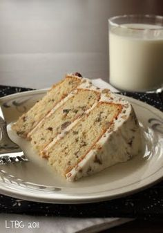 Italian Cream Cake. I ate this YEARS ago on a date with my hubby and vowed that it was one of the best things I have ever eaten. Haven't been able to find the recipe that seemed close enough to the original until now. I will have to give it a try