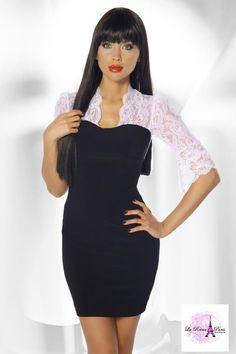 Mini vestidos de moda con encaje