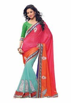 #Indian #Designer #Wear #Net #Pink #Embroidered #Saree #Fabdealdotcom, http://www.amazon.co.uk/dp/B00J0V1HE8/ref=cm_sw_r_pi_dp_6eprtb0PFAMZK