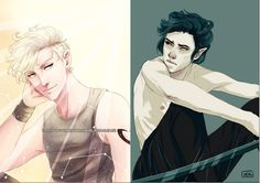 kierark > Mark Blackthorn X Kieran of the Hunt <3