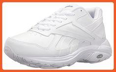 Reebok Women's Ultra V Dmx Max WD D Walking Shoe, White/Flat Grey-Wide D, 10 M US - Athletic shoes for women (*Amazon Partner-Link)