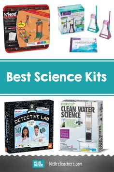 15 Science Kits That Make Complex STEM Concepts Simple. STEM learning doesn't have to be intimidating. These science kits will make even difficult concepts easier to comprehend, at home or in the classroom. Science Articles, Science Lessons, Teaching Science, Teaching Kids, Hydroponics Kits, Discounts For Teachers, Environmental Chemistry, Science Kits For Kids, Science Festival