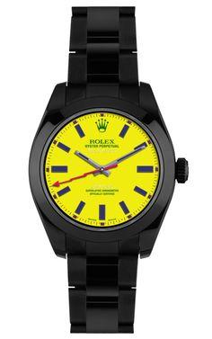 Brad Goreski Customized Milgauss Watch